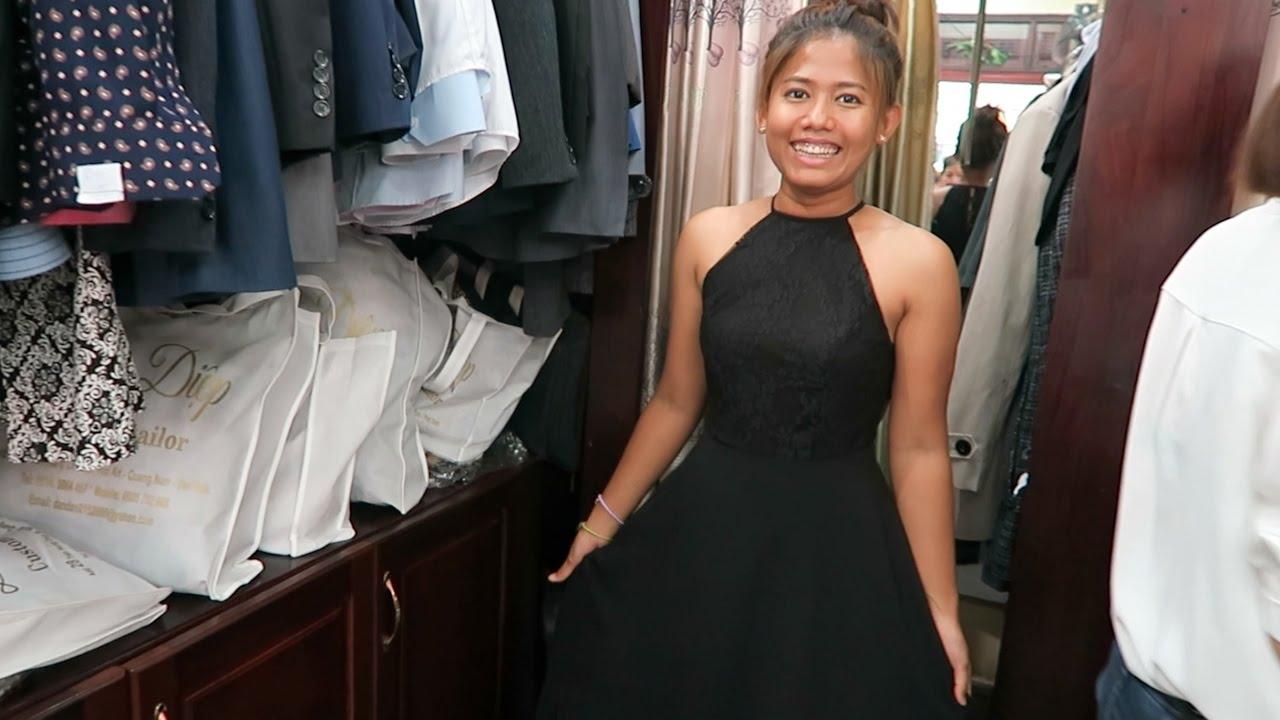 e28575ab533 HOI AN Part 2  Custom Dresses    Vietnam - YouTube