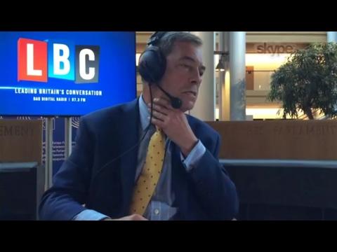 The Nigel Farage Show: Hard/Soft Brexit. Live LBC - 12th June 2017