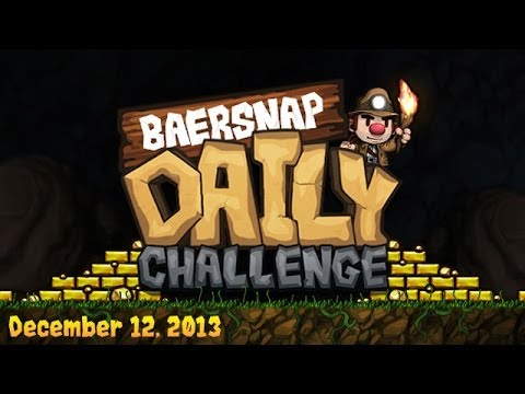 Spelunky Daily Challenge with Baer - 2-12-2014 from YouTube · Duration:  1 hour 12 minutes 32 seconds