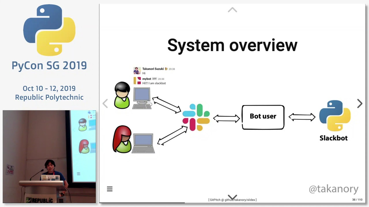 Image from Automate the Boring Stuff with Slackbot - PyCon SG 2019