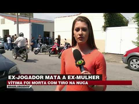 Ex-jogador mata ex-mulher com tiro em Pindamonhangaba
