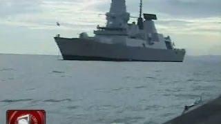 USS George Washington at pitong iba pang barko, nasa Leyte Gulf para sa
