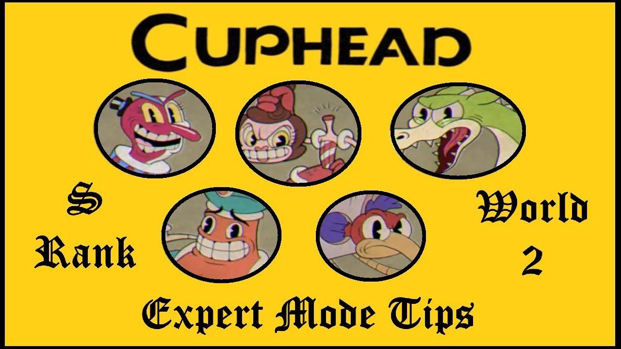 how to get expert mode in cuphead