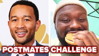 People Eat John Legend's Postmates Orders For A Day
