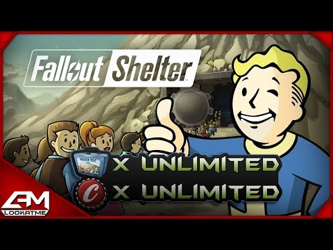Fallout Shelter: Unlimted Lunchboxes/Caps Glitch PS4