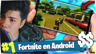FORTNITE FOR MOVIL ANDROID IS MORE D0lares GOING?!