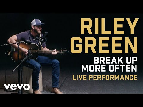 "Riley Green - ""Break Up More Often"" Official Performance 