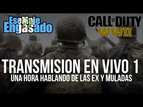 Jugando Engasadamente Call Of Duty WWII en vivo