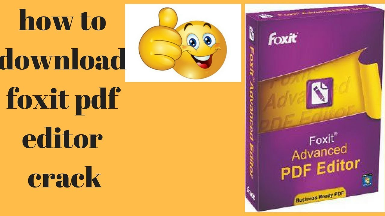foxit pdf editor register key download