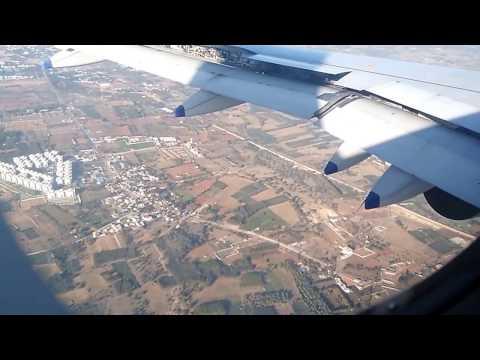 Sudden Landing of Varanasi to Bangalore Flight at Benagluru Airport.
