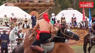 Kırgızistan'da Gerçekleşen 3  Dünya Göçebe Oyunlnları Devam Ediyor