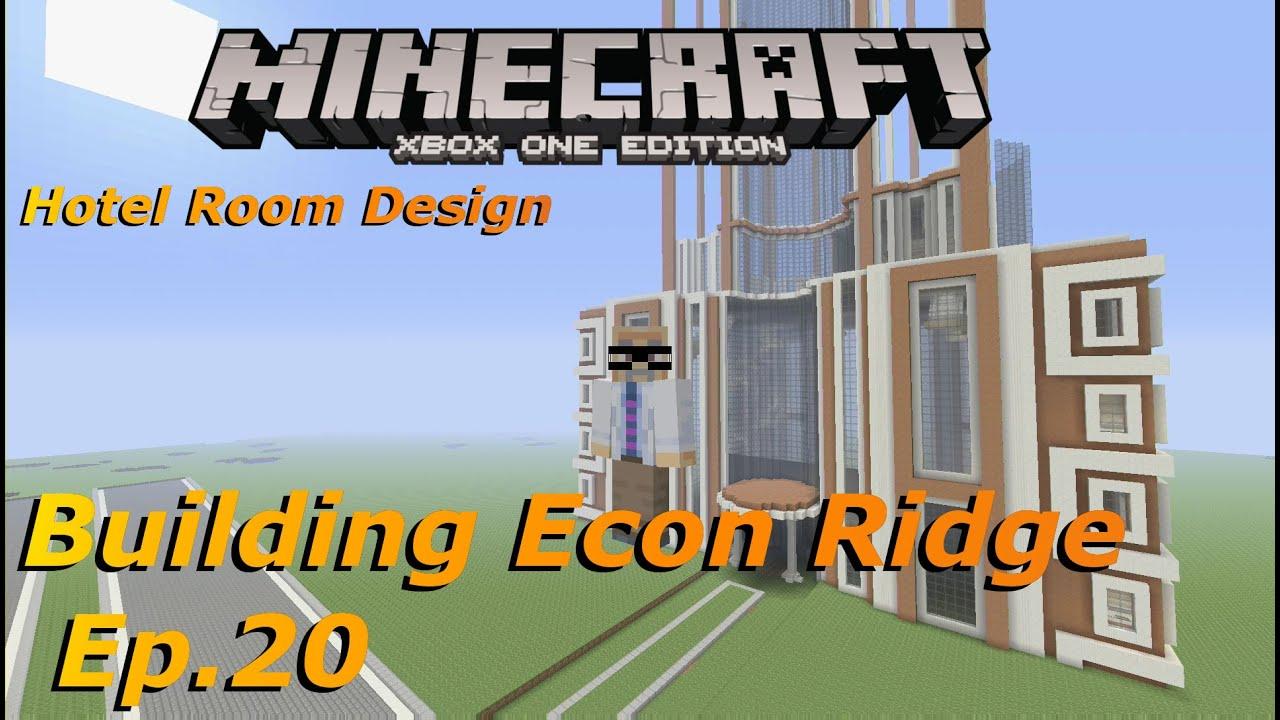 Minecraft Xbox Building Econ Ridge Ep.20 Hotel Room