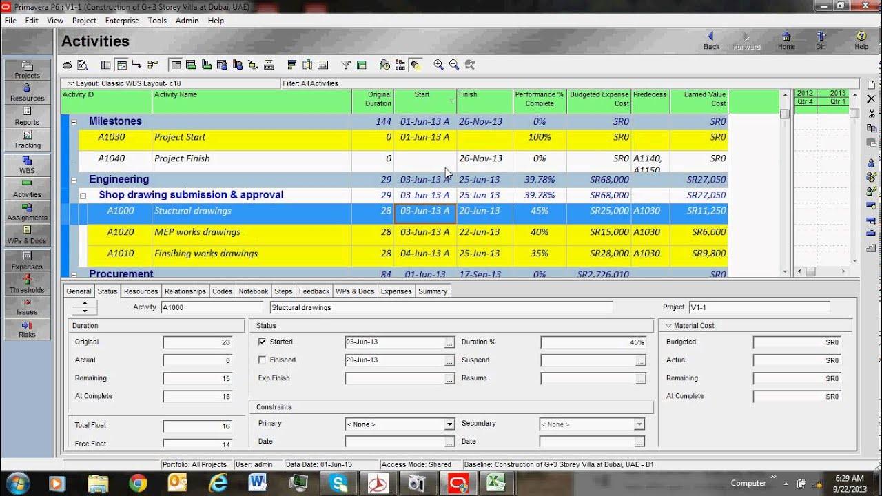 primavera tutorial cost loading youtube rh youtube com Primavera Software Logo primavera software manual pdf