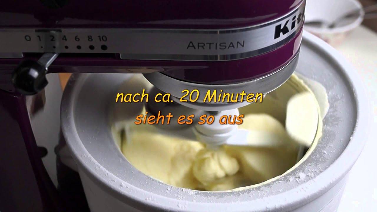 Kitchenaid eismaschine anleitung