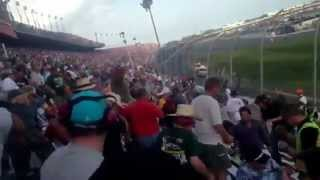 Fans Hit By Tire @ Daytona International Speedway 2/23/13