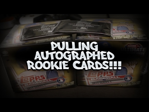INSANE ROOKIE AUTOGRAPH PULLS! MORE THAN ONE! TOPPS 2017 JUMBO HOBBY BOX!