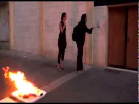 Fire Lit At Egyptian Embassy In Tel Aviv