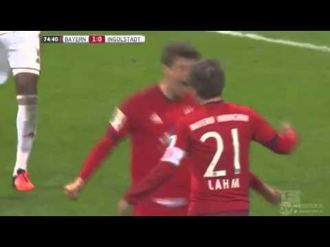 Highlight : Bayern Munich Vs Ingolstadt 2 - 0