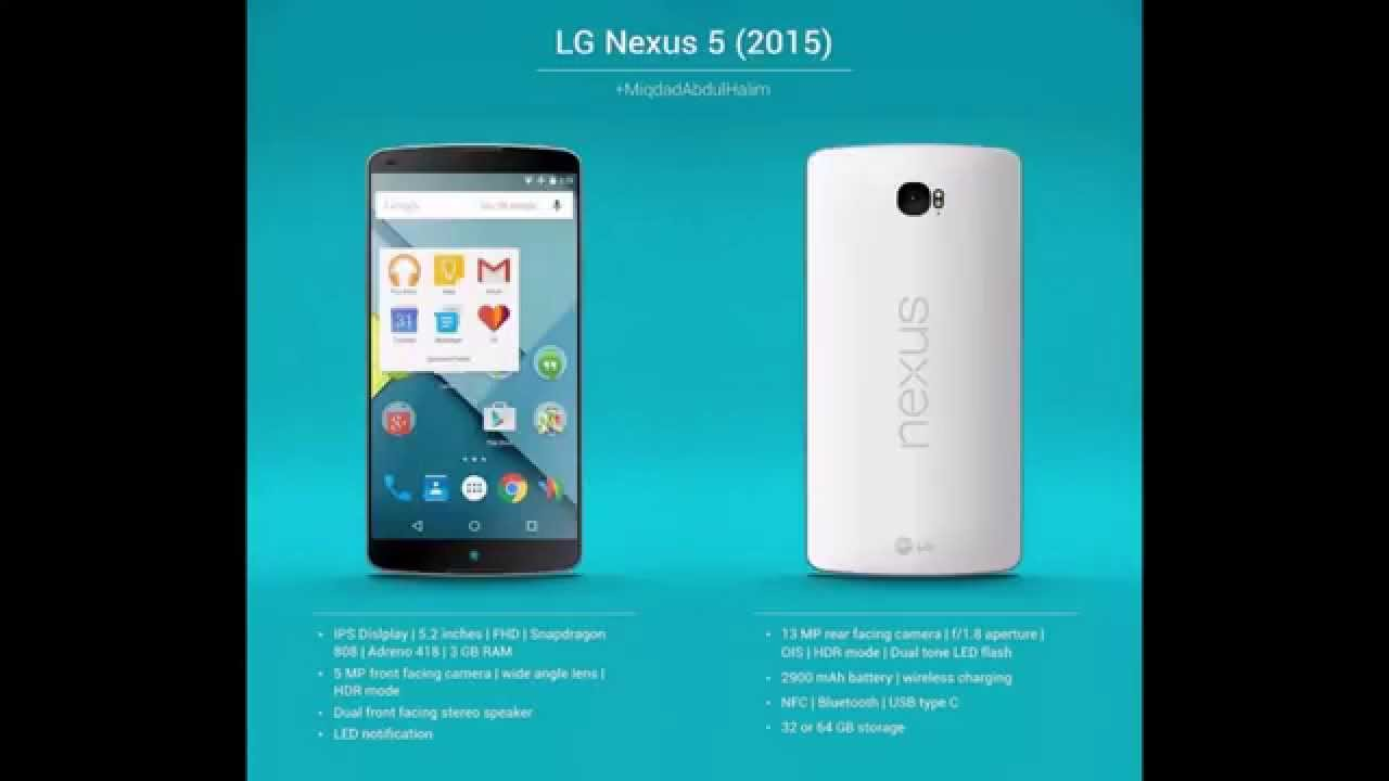 Nexus 5 2015 Leaked Images and Specification!
