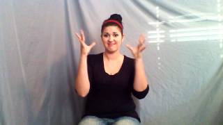 Learn ASL in 31 Days: Day 14:: Emotions