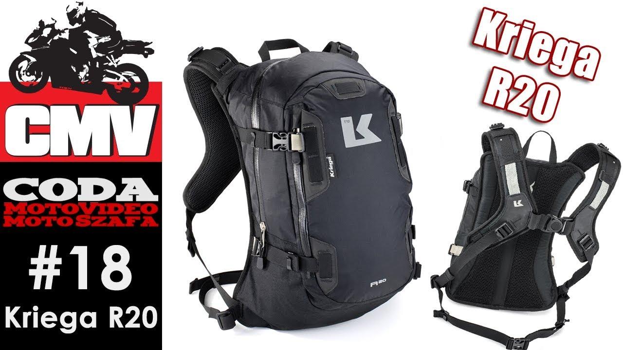 4805fddef0ba3 Moto Szafa #18: Kriega R20 - plecak motocyklowy - CODA MV - YouTube
