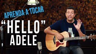 Adele - Hello (como tocar - aula de violão )