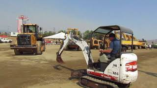 Video still for Chris Collinsworth Tests Bobcat at Vantage Auctions