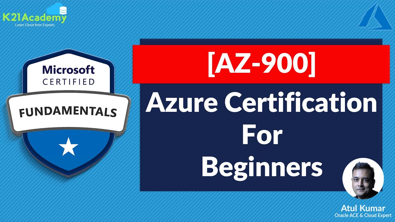 [AZ-900] Microsoft Azure Fundamentals Certification Exam: Everything You Must Know