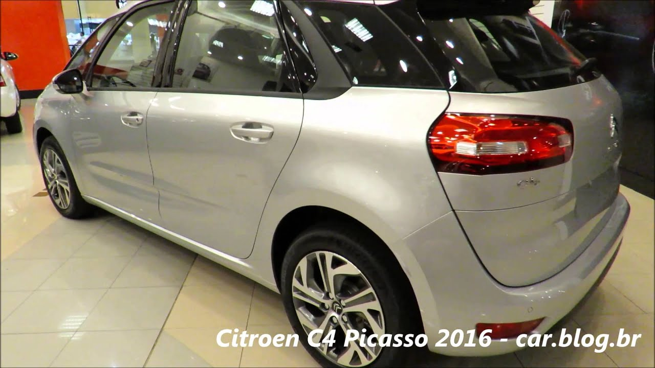 citroen c4 picasso 2016 detalhes youtube. Black Bedroom Furniture Sets. Home Design Ideas