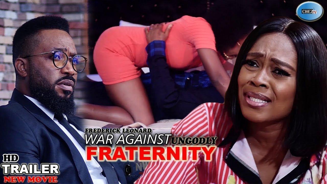 Download UNGODLY FRATERNITY (9,10&11 TEASER) Trending New Movie Fredrick Leonard 2021 Latest Nigerian Movie