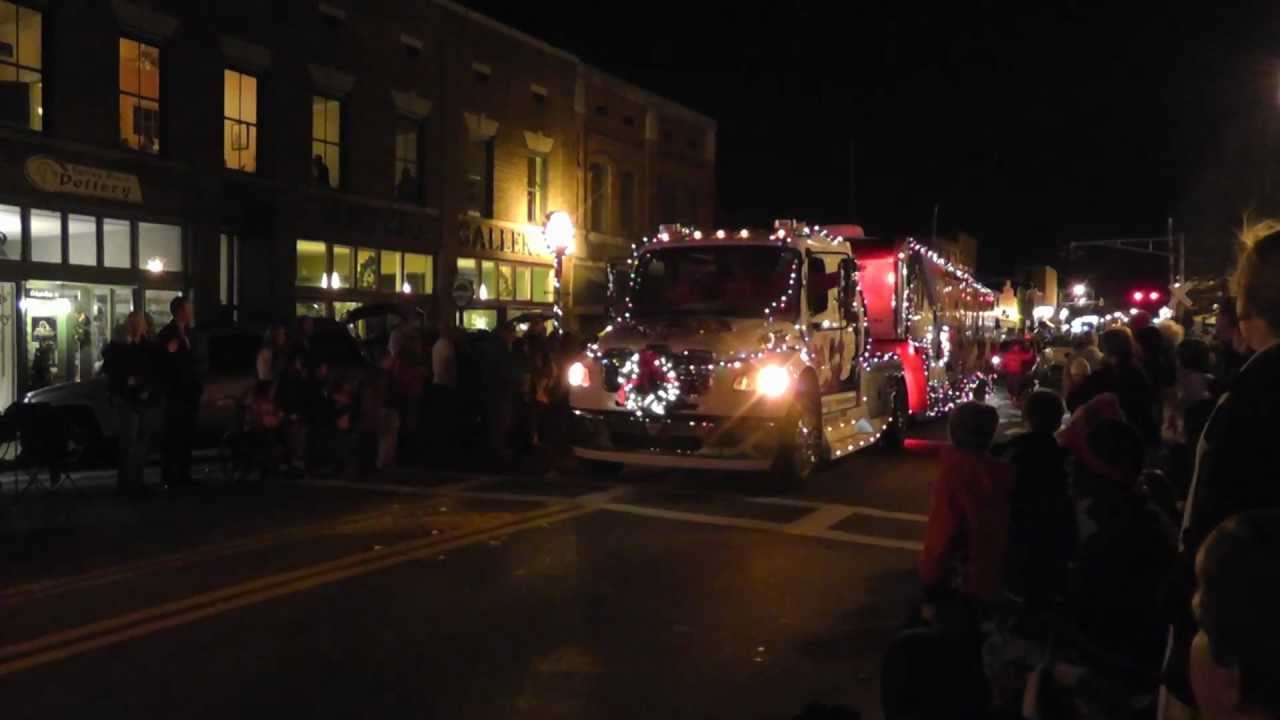 Cartersville Christmas Parade 2020 Cartersville Christmas Parade 2011   YouTube
