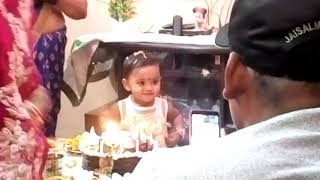 happy birthday to you, jhanki krishna leela, family birthday function, IN sector-14 colony
