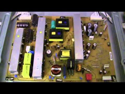 Defekter Plasma TV  LG 50 PK 350 550 750 Netzteil kaputt