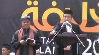 Orasi Politik 2 Muktamar Khilafah Sumut