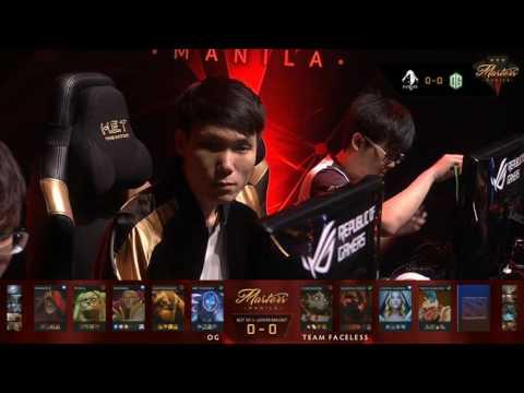 OG vs Faceless | The Manila Masters | Bo3 | Filipino Coverage | Game 1