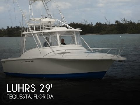 [UNAVAILABLE] Used 1998 Luhrs 290 Tournament In Tequesta, Florida