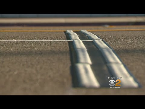 Chatsworth Street Gets 'Rumble Strips' To Discourage Street Racing