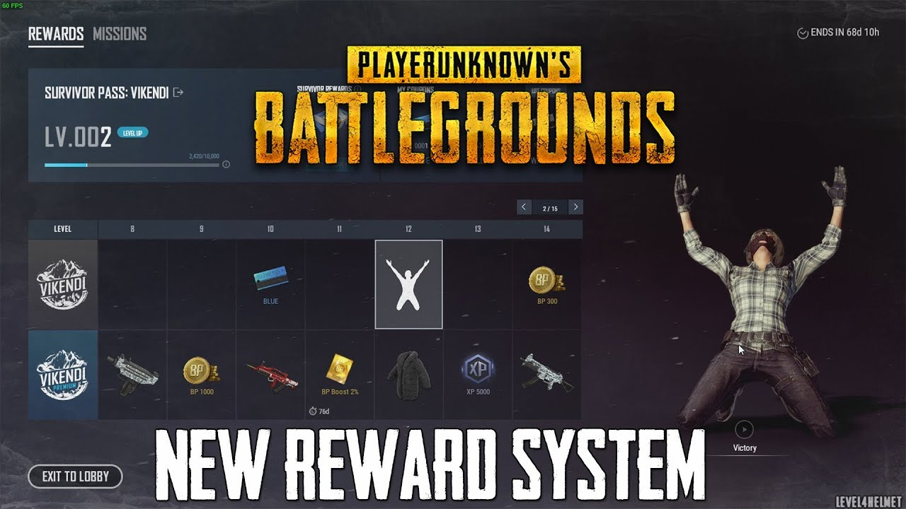 Pubg Reworked Reward System Survivor Pass Quick Look Youtube