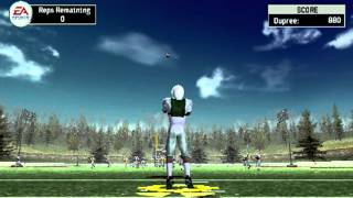 NCAA Football 07 - Marcus Dupree campus legend