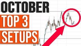 Market Forecast: October Top 3 Setups