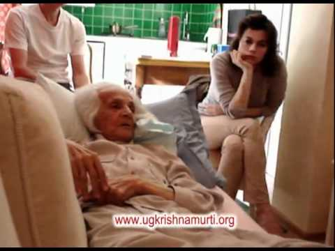 Parting Message on his death bed! U.G.Krishnamurti