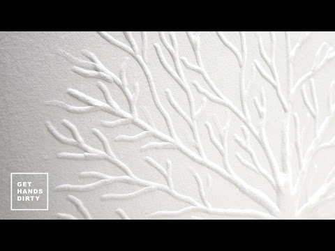 How to Emboss Paper // Hand and Machine methods