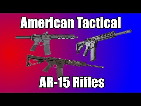 American Tactical AR-15 Rifles