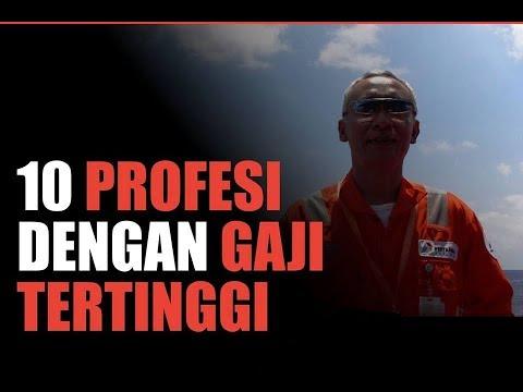 Inilah 10 Profesi dengan Gaji Tertinggi di Indonesia