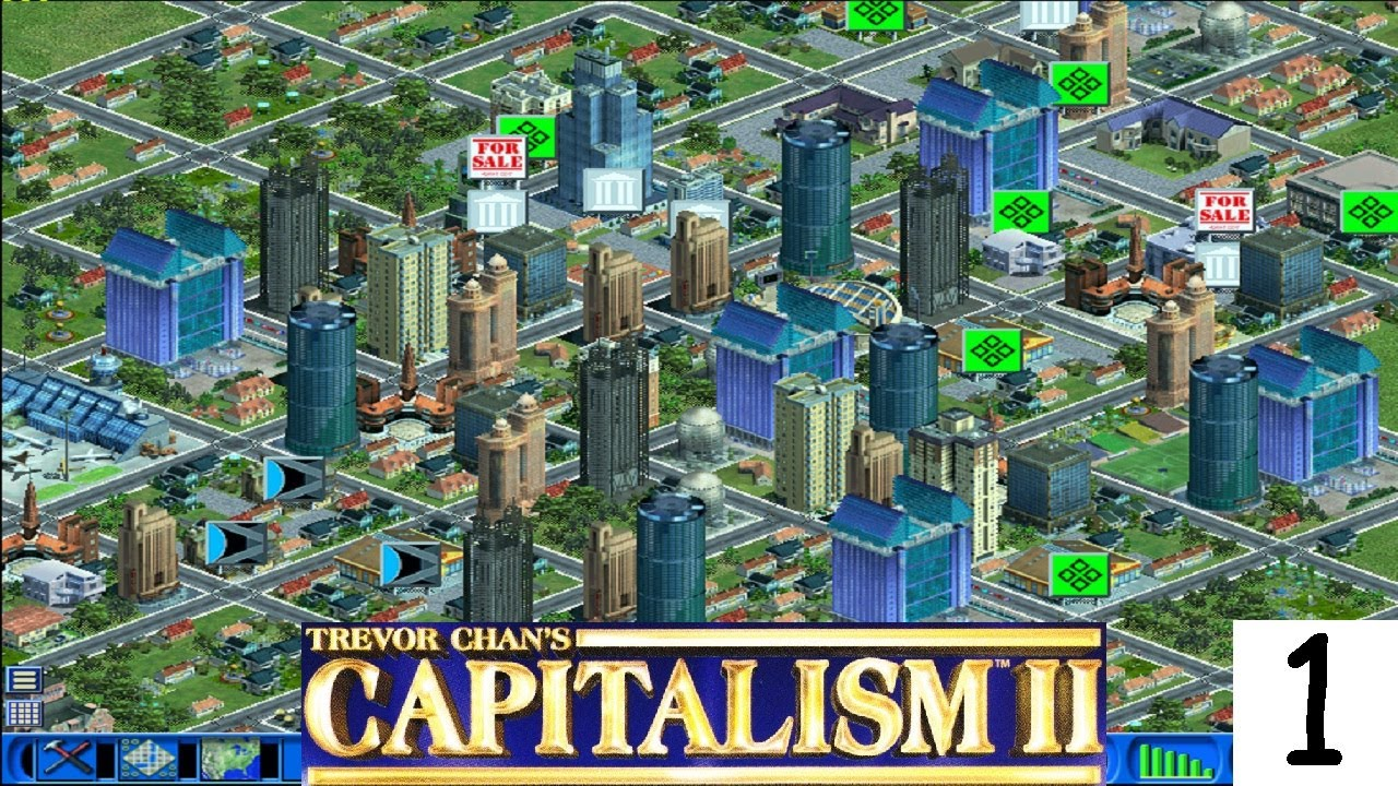 Capitalism business simulation games for PC