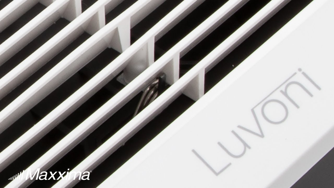 Luvoni 70 CFM Bathroom Exhaust and Vent Fan with Light 2 Sones Fan by Maxxima
