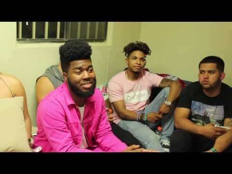 Khalid Exclusive Interview After Neon Desert Music Festival