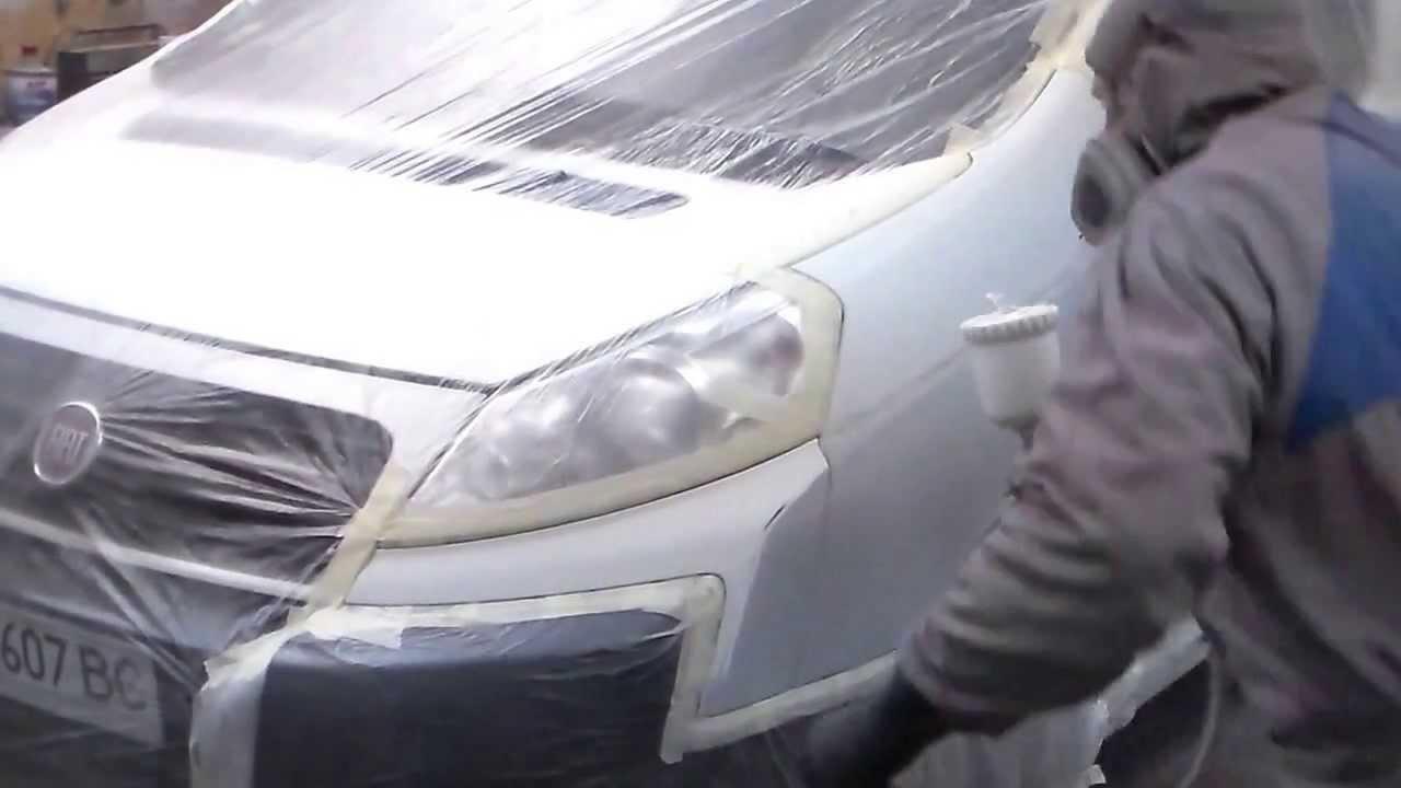 покраска авто и ремонт фиат скудо