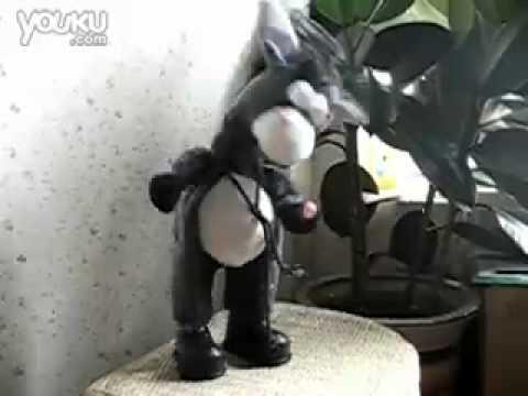 Plush Donkey Stuffed Interactive Dance & Sing Musical Kid Toy