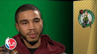 Jayson Tatum knows it'll be different playing against Al Horford | NBA on ESPN